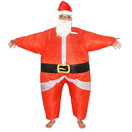 Männliche Kostüm Puppe Aufblasbare - Lydia's Anime Cosplay Kleidung Weihnachtsmann Aufblasbare Kostüm Cosplay Weihnachten Cartoon Puppe Kostüm Weihnachten Weihnachtsmann Dress Up Kleidung Requisiten 150~195cm