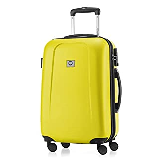 Hauptstadtkoffer – Trolley, color Amarillo, 55cm
