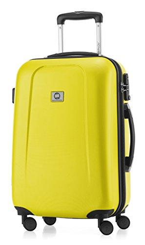 Maleta American Tourister amarilla de cabina