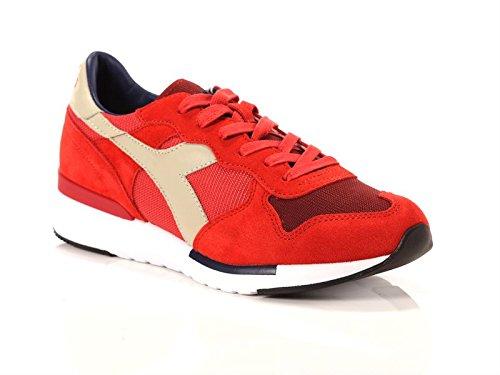 Sneaker Diadora DIADORA hombre bajas zapatillas de deporte 01 201.171864 C6689 TRIDENTE EVO talla 42.5 Rojo