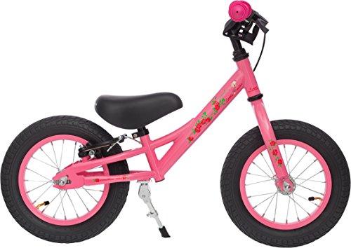 Prometheus Laufrad ab 2 oder 3 Jahre mit Bremse für Junge und Mädchen | 12 Zoll in Rosa