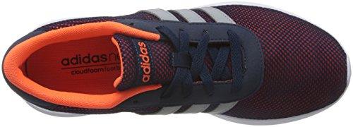 adidas Lite Racer, Chaussures de Sport Homme, Noir, 40.5 EU Multicolore - Naranja / Negro (Narsol / Onicla / Narsol)