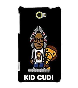 EPICCASE kid cudi Mobile Back Case Cover For HTC Windows Phone 8S (Designer Case)