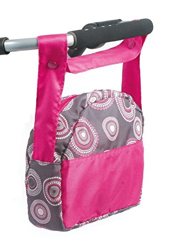 Bayer Chic 2000 853 87 Bolsa para Guardar pañales, Hot Pink Pearls