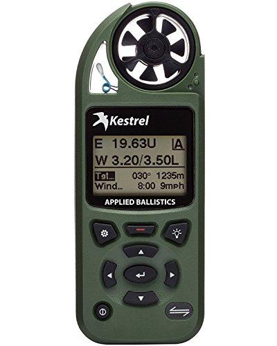 Kestrel 5700Elite Weather Medidor con Aplique balística, 0.034019424, Color Verde Oliva