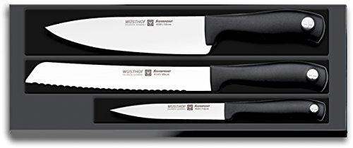 Wüsthof TR9814 Silverpoint Coffret 3 Couteaux de Cuisine