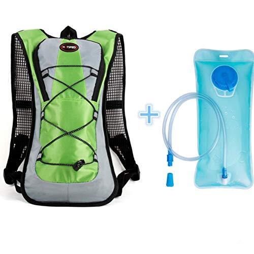 WESEEDOO Mochila hidratante para vejiga, Mochila para Bicicleta Mochila para Agua Mochila para Ciclismo Senderismo Bolsa de Ciclismo de 5L Accesorios(Mochila para Bicicleta con Bolsa de Agua)