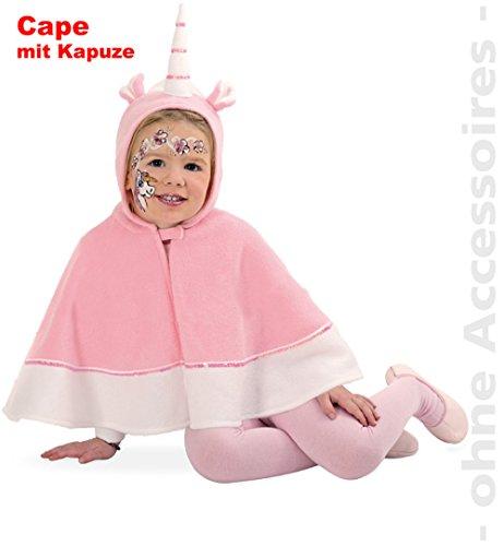 NEU Kinder-Kostüm Cape Einhorn, ()