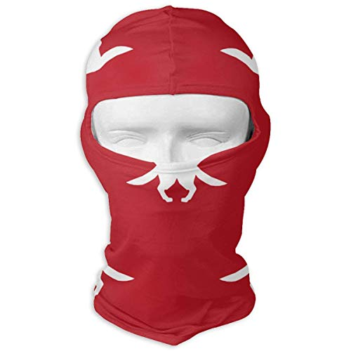 angwenkuanku German Shepherd Silhouette Dog Fabric Fire Red GIF Balaclava Face Mask Breathable Outdoor Sports Motorcycle Cycling Snowboard Hunting Ski New19 (Fire Dog Kostüm)