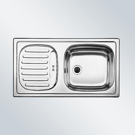 Preisvergleich Produktbild Blanco Flex Mini Edelstahl-Spüle Naturfinish