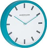 London Clock 1922 - London Pop - Pop - Teal Blue Wall Clock