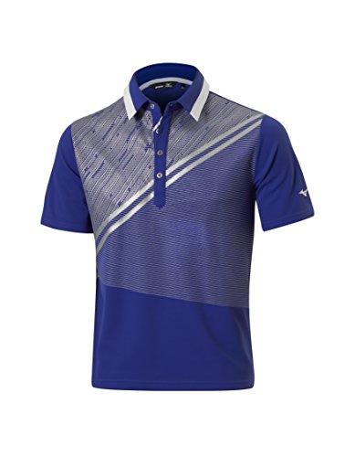 Mizuno Men's Solar Cut Print Polo Shirt