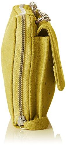 Petite Mendigote - Ariane, Borse a tracolla Donna Giallo (Lime)