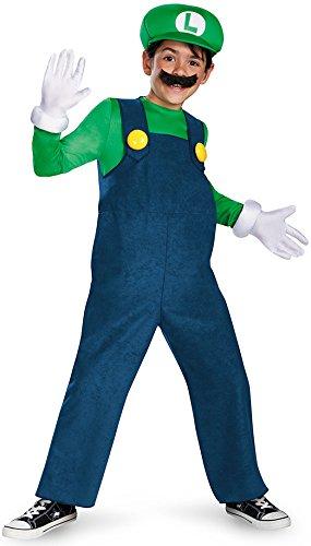 Generique - Kostüm Luigi für Kinder - hochwertig