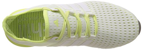 Adidas - Climachill Gazelle Boost, Sneakers da donna bianco (ftwr white/ftwr white/light flash yellow s15)