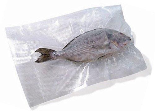 % Reber 6735 N Sacchetti Goffrati per Sottovuoto, 30×40 cm, 105 Micron, Anti-UV, 100 Pezzi, Trasparente recensioni dei consumatori