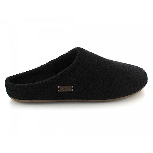 HaflingerClassic - Pantofole non imbottite donna Black