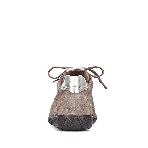 Gabor Shoes Comfort Basic, Derbys Femme Taupe Suede