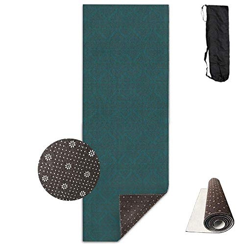 2dd5de60f HiExotic Estera Yoga Mat Eco-Friendly Anti Slip Boho Henna Earth Palette  Fabric (2589
