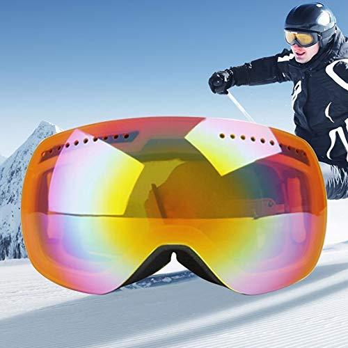 Duhongmei123 Mode Brillen H009 Unisex Dual Layer-Weitsicht Anti-Fog Windschutz UV-Schutz Sphärische Schutzbrille mit verstellbarem Gurt Occhiali (Artikelnummer : Og5218j)