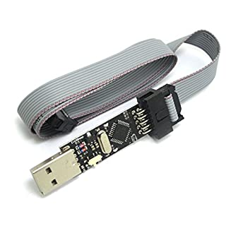 Programmierer-Adapter 3.3V oder 5V USBASP Download-Programm ISP-AVR