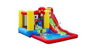 Happy Hop. Se avete sempre aspettato un gonfiabile con salterello e scivolo ad acqua, non potete perdere Salta & Splash, la rivoluzione nel salto!