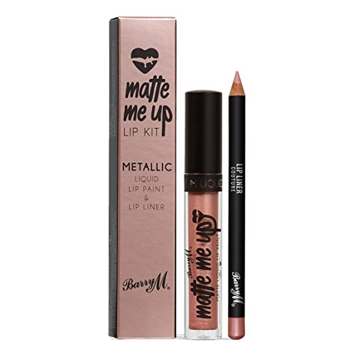 Bare Escentuals Kosmetik (Barry M Matt Me Up Metallic Lippen Set - Couture)