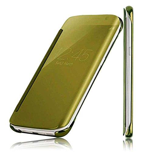 Funda Smart Clear Flip SView Efecto Espejo Para Samsung Galaxy S7 Edge...