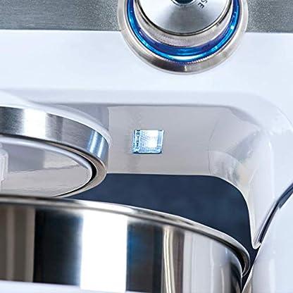AEG-KM-6100-Kchenmaschine-UltraMix-57-l-groe-Rhrschssel-Programmierbarer-Timer-mit-Abschaltautomatik-16-PS-Hochleistungs-Motor-und-10-variablen-Geschwindigkeitsstufen-weiedelstahl