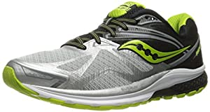 Saucony Men's Ride 9 Running Shoes, Silver (Wht 001), 12 UK
