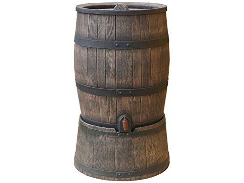 Récupérateur d'eau brun Roto 120 litres | complet avec couvercle, robinet et socle!