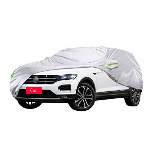 Kompatibel mit Volkswagen T-ROC Car Cover SUV Wasserdicht Atmungsaktiv Dicker Sonnenschutz Regen Große Kleine Autoabdeckung