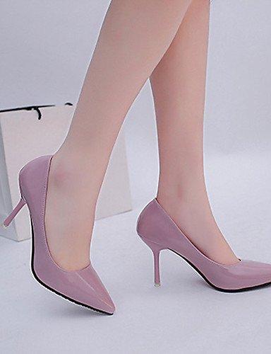 WSS 2016 Chaussures Femme-Mariage / Bureau & Travail / Soirée & Evénement-Noir / Rose / Rouge / Blanc / Gris-Talon Aiguille-Escarpin Basique / pink-us6.5-7 / eu37 / uk4.5-5 / cn37