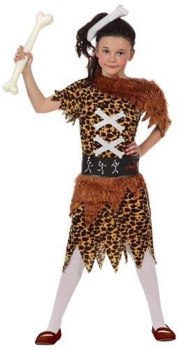 2. Atosa France 53962 Costume Cavernicola Bambina, 10/12 Anni