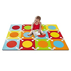 Skip Hop Playspot Foam Floor Tiles - Bold Brights