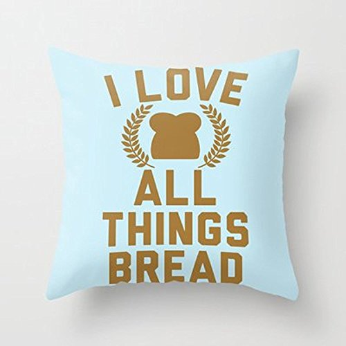 My Honey Pillow I Love All Things Bread Throw Pillow By Lookhumanfor Your Home
