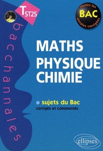 Mathematiques Physique Chimie Terminale St2s by Pascal Clavier (2009-01-15)