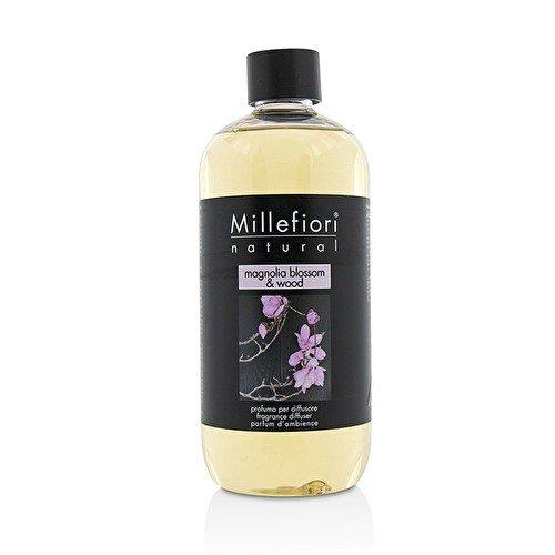 Millefiori milano ricarica da 500 ml per diffusore a stick / bastoncini fragranza magnolia blossom & wood
