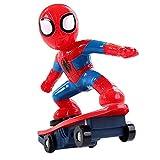 Lfy Voiture Télécommandée De Jouet Spiderman, Cadeau De Voiture Jouet De Garçon De Course De Filature
