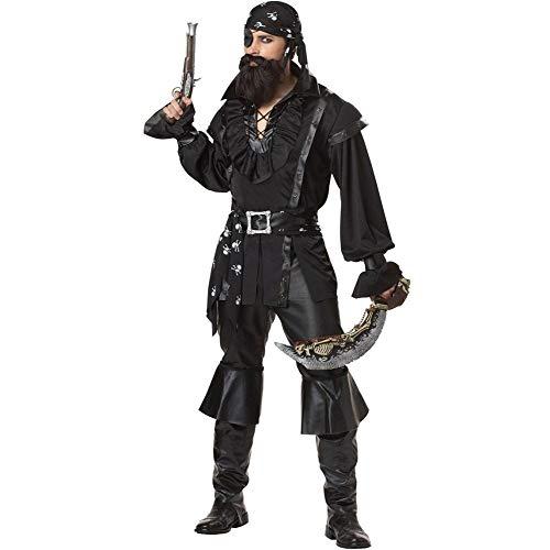 Männliche Piraten Kostüm Für Erwachsene - Halloween Männer Und Frauen Piraten Kostüm