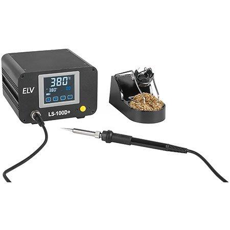 ELV Lötstation LS-100D+, 100 W, ESD-gerecht, mit Touchscreen