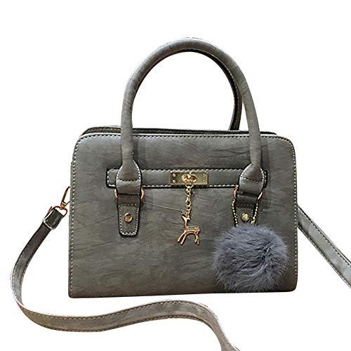 Borse tote,feixiang orse moda per donna borse in pelle pu borsa a mano donna con grande capacità borsa a mano borse a tracolla borse tote