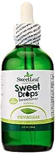 Wisdom Natural Sweetleaf Stevia Extract Clear Liquid 120Ml ( 1X4 Oz)