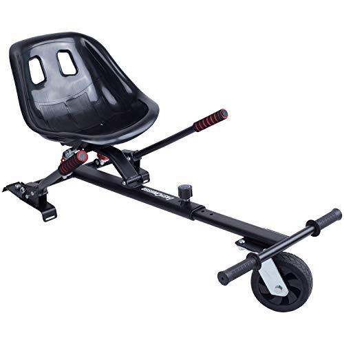Blaustein EasyCruiser PRO Hoverkart I Premium Hoverboard Sitz als Kart-Erweiterung für alle Hoverboards von 6,5-10 Zoll I Deutsche Qualitätsmarke I Größenverstellbar für Kinder und Erwachsene