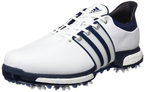 b2f66d2844228 adidas Tour 360 Boost Chaussures de Golf pour Homme, Homme, Tour360 Boost,  Blanc/Bleu/argenté