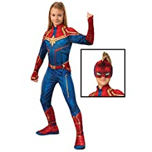Rubie's Official Captain Marvel Hero Suit, Childs Costume, Small Age 3-4 Years