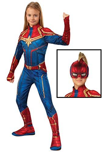 Rubie's Costume Officiel de héro Captain Marvel pour Enfant