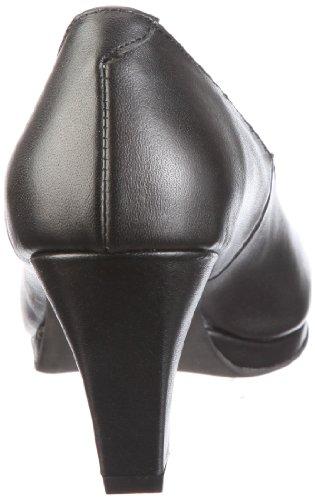 Andrea Conti 590456, Scarpe col tacco donna Nero (Schwarz/schwarz)