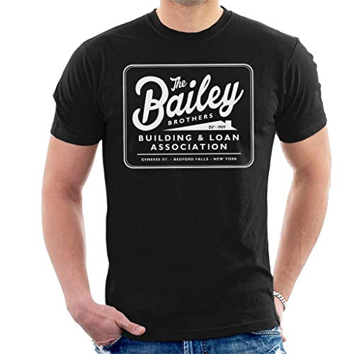 Its A Wonderful Life Baileys Brothers Building and Loans Association Men's T-Shirt -