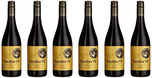 Faustino VII Tinto Rioja Vinos Tempranillo 2018 Trocken (6 x 0.75 l)